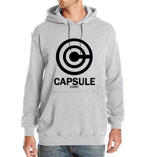 Sweater Capsule Corp S M L Xl Hitam New 2017 Sweatshirt Winter Hoodie