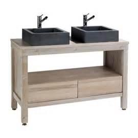 meuble sous vasque galiane 120 cm sans plan castorama