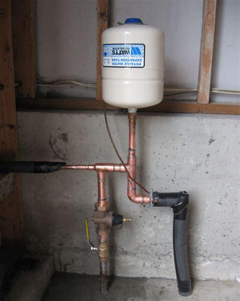 Plumbing Expansion Tank by Thermal Expansion Tank Terry Plumbing Remodel Diy Professional Forum