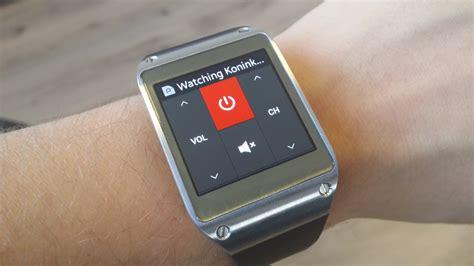 galaxy s4 infrared galaxy gear smart remote app allows tv through ir