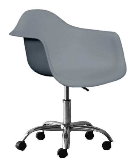 Plastic Office Chair by Molded Plastic Eiffel Seat Office Chair