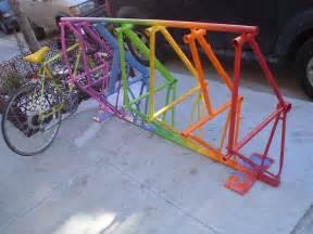 bike parking rack woodguides