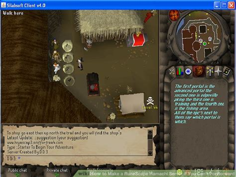 hamachi forwarding how to make a runescape hamachi server if you can t