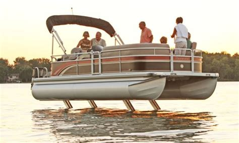 pontoon boats made in canada how to pontoon legs pontoon deck boat magazine