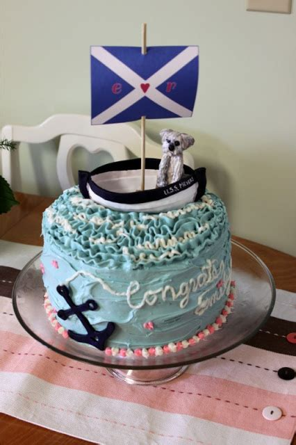 Nautical Bridal Shower Cakes by Our Pinteresting Family Nautical Bridal Shower