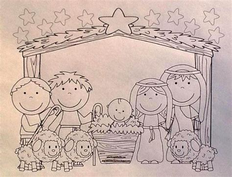 preschool coloring pages of baby jesus bible fun for kids baby jesus song more for preschool