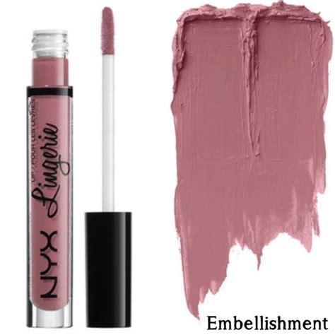 Nyx Cosmetics Lipstick nyx embellishment collection nyx