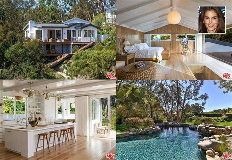 crawford house nj cindy crawford lists malibu home for 15 5m picture in photos celebrity homes abc