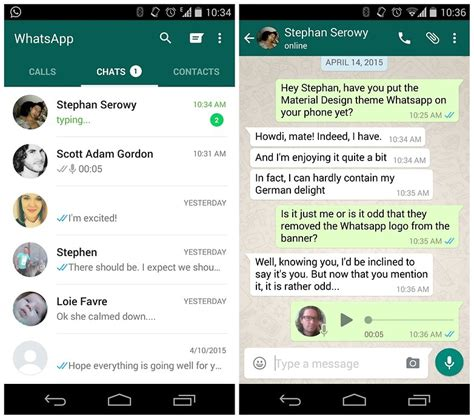 whatsapp on android whatsapp messenger free apk android babbles