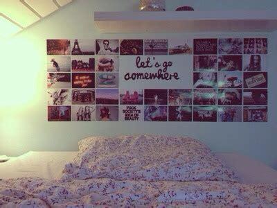 bedroom wall art tumblr bedroom inspiration bed diy collage room decor wall art
