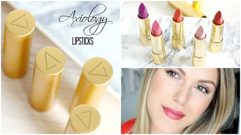 Lipstick That Gives Back 2 by Axiology Lipsticks Review Back2beautyback2beauty