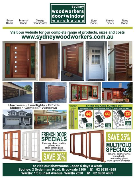 woodworkers brookvale architectural windows and doors general doors general