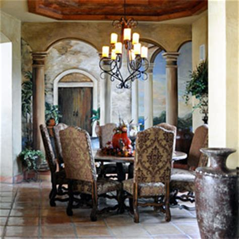 dining chairs colonial hacienda style dining