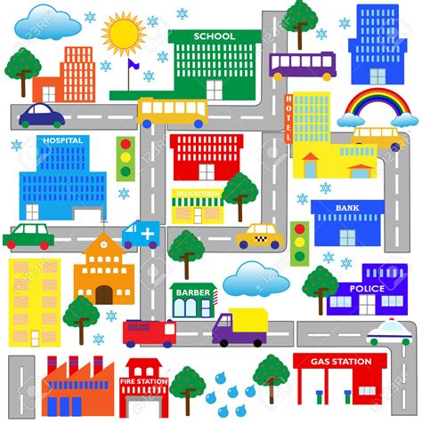 clipart of map neighborhood map clipart www imgkid the image kid