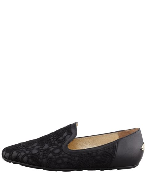 jimmy choo loafers womens jimmy choo womens black wheel lace weekend loafer ijshoes