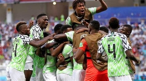 highlights of nigeria 2 0 win against iceland