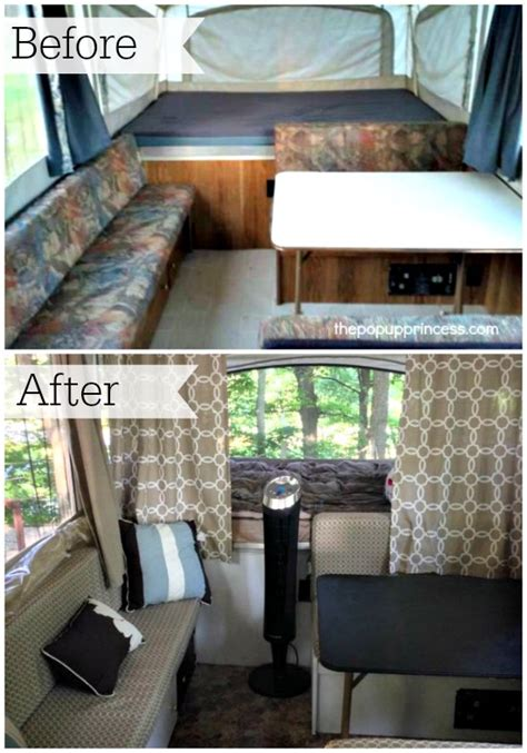 Trailer Awning Replacement Cassie P S Pop Up Camper Makeover The Pop Up Princess