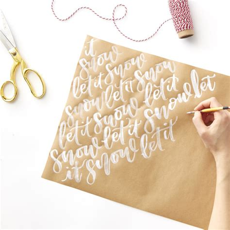 Make Your Own Gift Wrapping Paper - style cable car couture