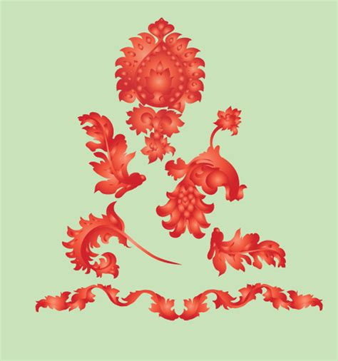 tutorial ornament illustrator 250 free vintage graphics flourish vector ornaments