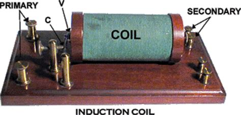 how to make an inductor coil rumkorf coil induction coil science diy