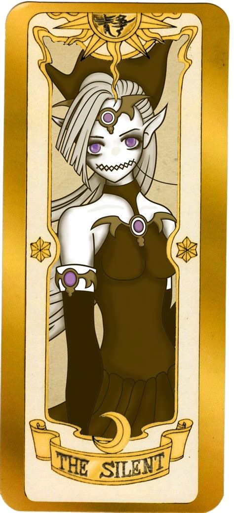 Pin Cardcaptor Clow Card illustration of a clow card quot the silent quot cardcaptor the o jays cards and
