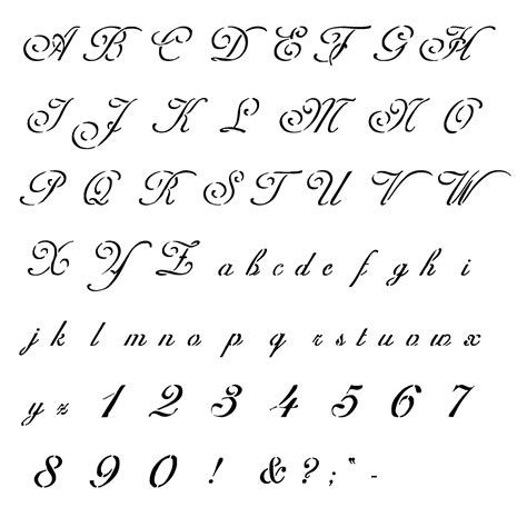 printable fonts online free printable letter stencils for painting 4 freebies