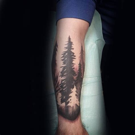 forest tattoo forearm forearm forest designs ideas and meaning tattoos