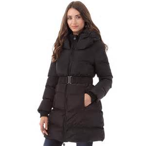 buy onfire womens padded jacket black