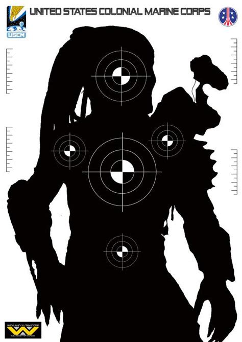 cool printable shooting targets sci fi targets some talented people here