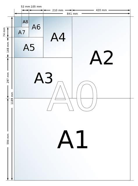 Kertas Ukuran A4 Mengenal Ukuran Kertas A3 Www Infopercetakan