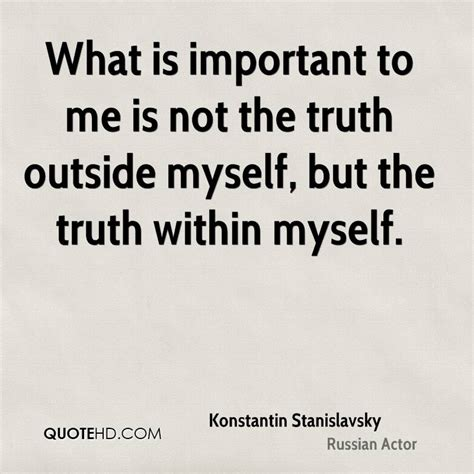 Is To by Constantin Stanislavski Quotes Image Quotes At Hippoquotes