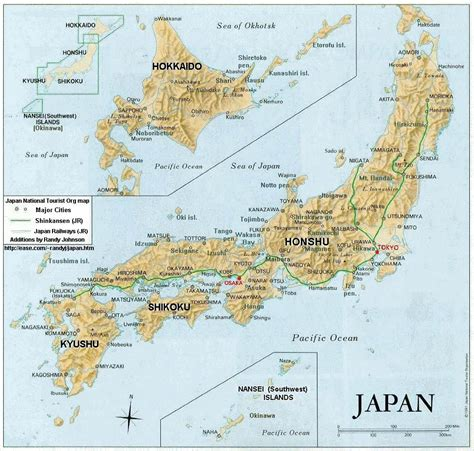 printable images of japan printable map of political physical maps of japan maps