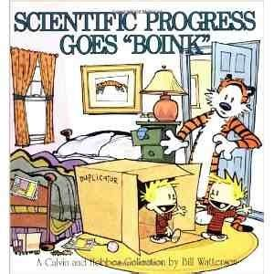 scientific progress goes boink a calvin and hobbes collection slings arrows