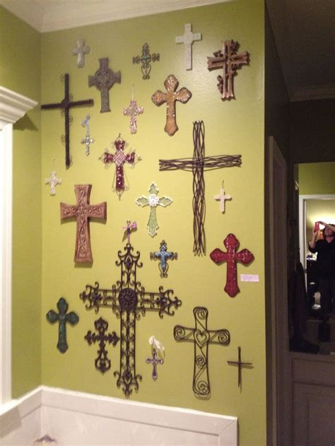 decor at home best 10 wall crosses ideas on