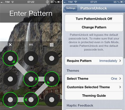 android pattern lock for iphone no jailbreak patternunlock разблокировка iphone в стиле android