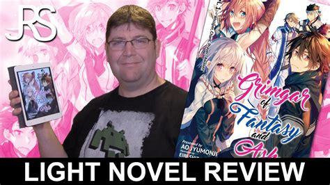 grimgar of and ash light novel vol 4 grimgar of and ash volume 1 light novel review