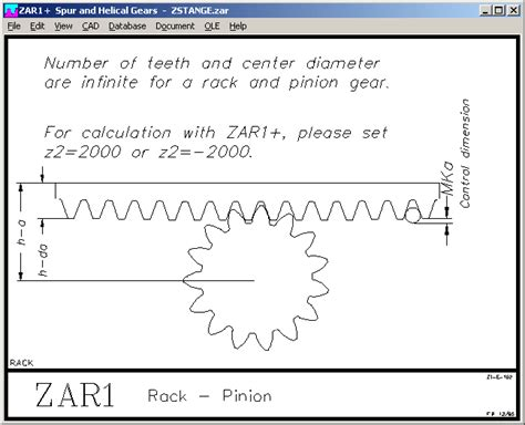 Rack And Pinion Formulas by Rack And Pinion Gear Design With Formula