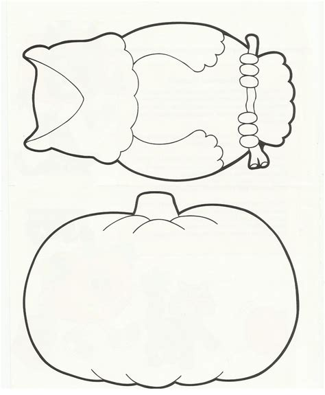 8 best images of halloween pumpkin templates printable