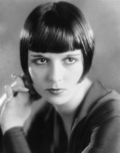 hairstyles of the stars from the 20s in the 30s louise brooks annex