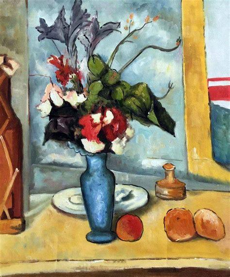 Home Designer Free by Le Vase Bleu Paul Cezanne Oil Painting Replica