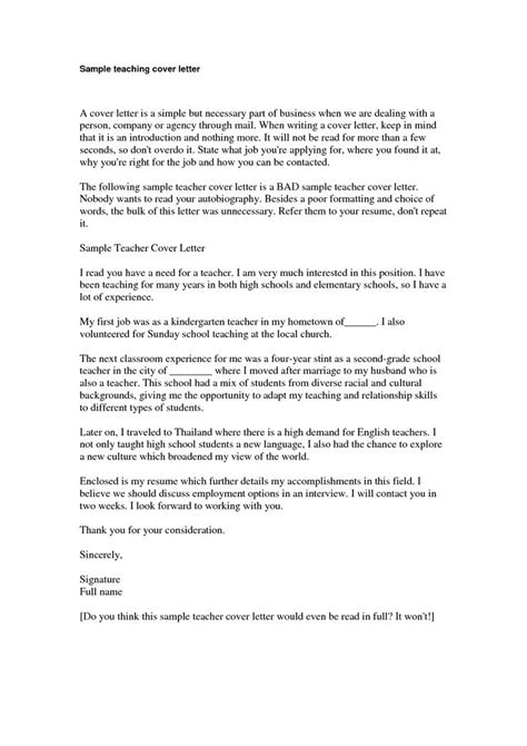 teaching position cover letter sample preschool teacher cover