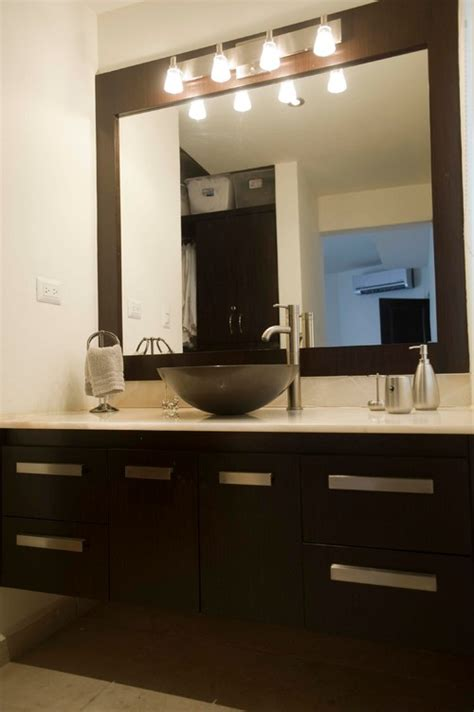bathroom vanity mirrors with lights vanity mirror and light fixture