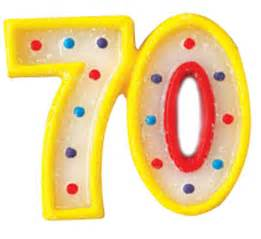 Candle number 70 party supplies ideas accessories decorations