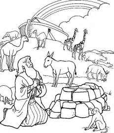 noah and the ark coloring page noah s ark colouring page free printable homeschool