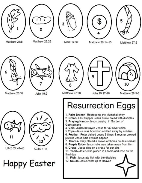 resurrection coloring pages church house collection easter resurrection eggs