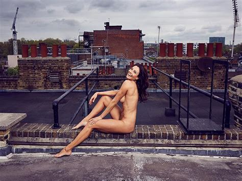 Melanie Sykes Naked Issue Plus Her Workouts Women S Health