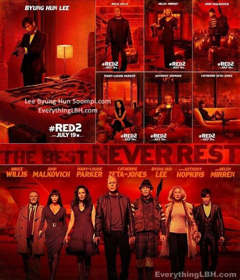 Red 2 2013 Film Red2 Hot Poster Teaser Timeless