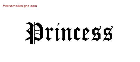 princess archives free name designs