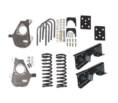 lowering kit for gmc mcgaughy lowering kit for 01 06 chevy gmc 1 2 ton truck