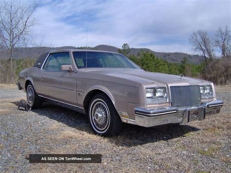 1984 buick riviera 1984 buick riviera 5 0 v 8 auto luxury coupe